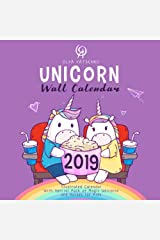 Unicorn Wall Calendar 2019: Illustrated Calendar With Special Pack of Magic Unicorns and Horses for Kids Paperback