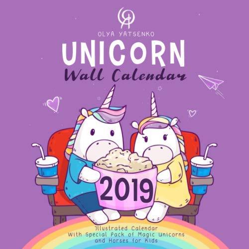 Download: Unicorn Wall Calendar 2019: Illustrated ...