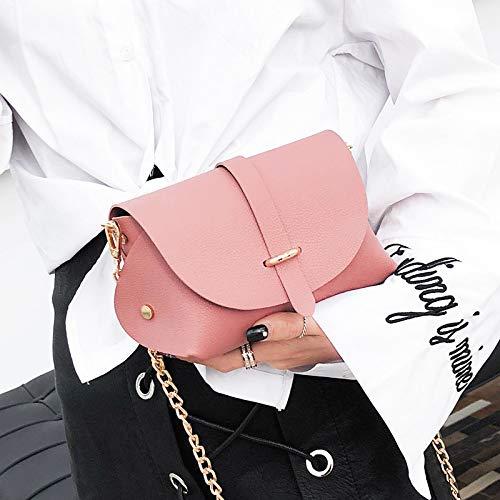 Cuadrada Bolsa Lentejuela Carta láser Paquete pequeña Mujer Contraste Retro gelatina impresión Bolsa Costura Bolso de de Tendencia Transparente de Color xUYwW0