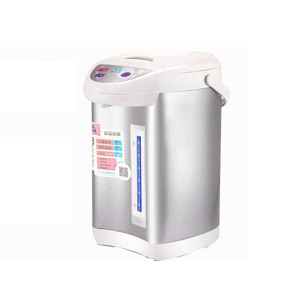 HTTDIAN 電気湯たんぽ▏自動断熱統合家庭用ケトル▏インテリジェント恒温ステンレススチールライナー (色 : Gray) B07MQQ5BYJ Gray