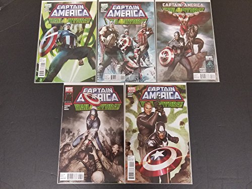 Captain America Hail Hydra #1-5 Complete Set Full Run Marevl Comics 2011 CBX1H