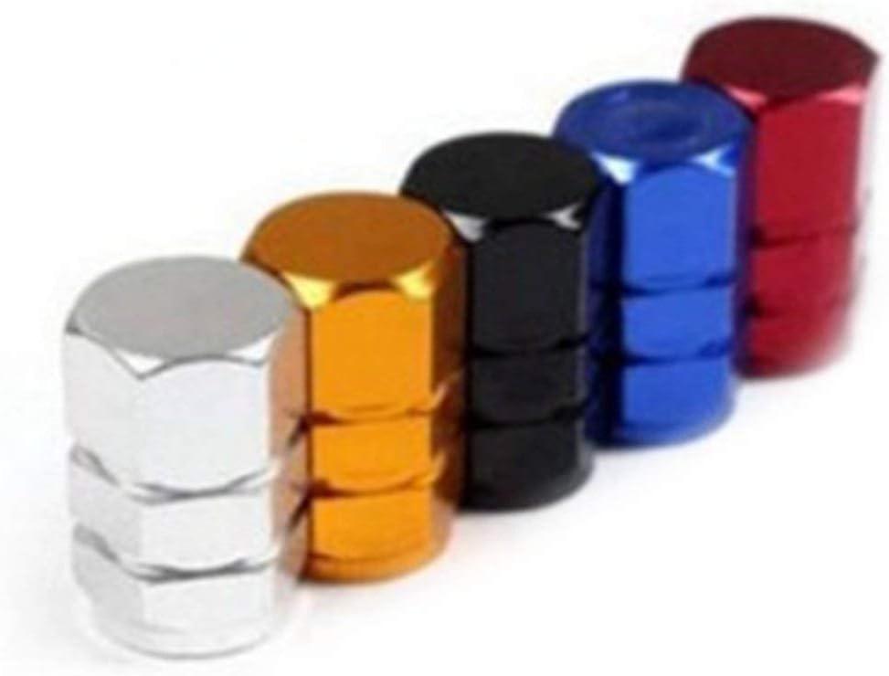 schwarz opp beutel paket Sunnyflowk 4 Teile//satz Allumium Alloy Reifen Ventilkappe Autos Staubdicht Rad Ventilkappen Auto Dekorative Zubeh/ör