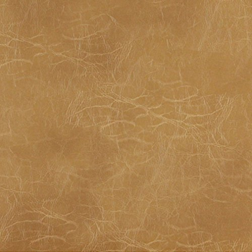 [G494 Camel Brown Distressed Leather Look Upholstery Grade Recycled Leather (Bonded Leather) By The] (Recycled Material Costume)