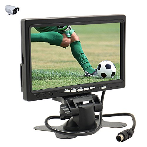 """Sourcingbay 7"""" High Resolution TFT LCD Color Monitor for Car"""