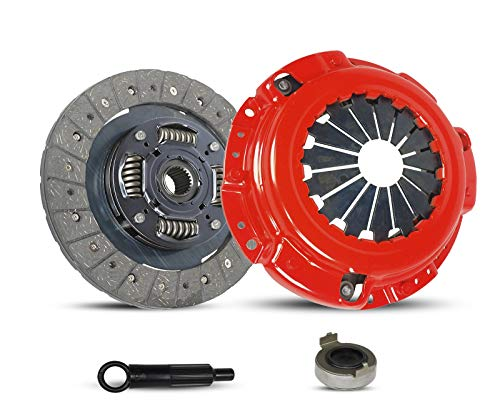 Clutch Kit Works With Acura Cl Honda Accord Prelude Dx Ex Lx Value Package Type SH VTEC 1990-2002 2.2L l4 2.3L l4 GAS SOHC 2.2L l4 GAS DOHC Naturally Aspirated -