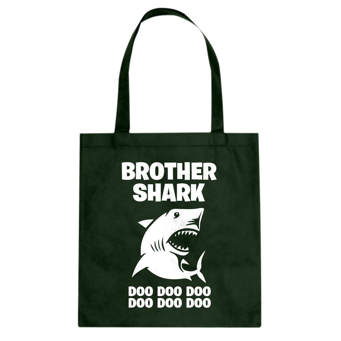 Indica Plateau Brother Shark Cotton Canvas Tote Bag
