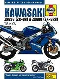 H4742 Haynes Kawasaki 2003-2006 ZX636 ZX-6R ZX600 ZX-6RR Repair Manual