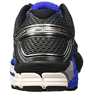 Brooks Men's Adrenaline GTS 17 Anthracite/Electric Blue/Silver 9.5 D US