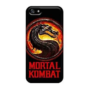 Protector Hard Phone Cases For Iphone 5/5s (rLA6204rKeC) Provide Private Custom Vivid Mortal Kombat Good Pictures