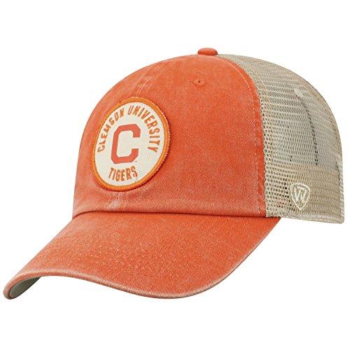 Top of the World Clemson Tigers Official NCAA Adjustable Keepsake Soft Mesh Cotton Hat Cap 428529
