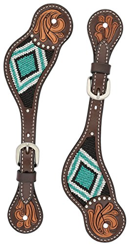 (Turquoise Cross Turquoise Beaded Ladies' Spur)