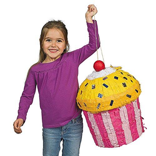 Celebration Pinata Birthday Party (Birthday Celebration Cupcake Piñata)