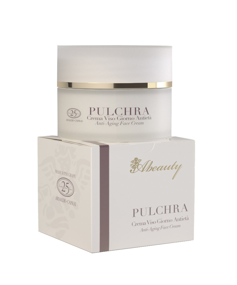 Abeauty Wrinkles Lifting Pulchra Anti Aging Day Face Cream, Grapes, 1.7 Fluid Ounce