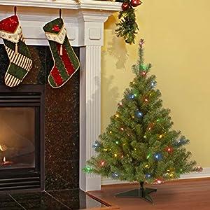 National Tree Kincaid Spruce Tree with Multicolor Lights 2
