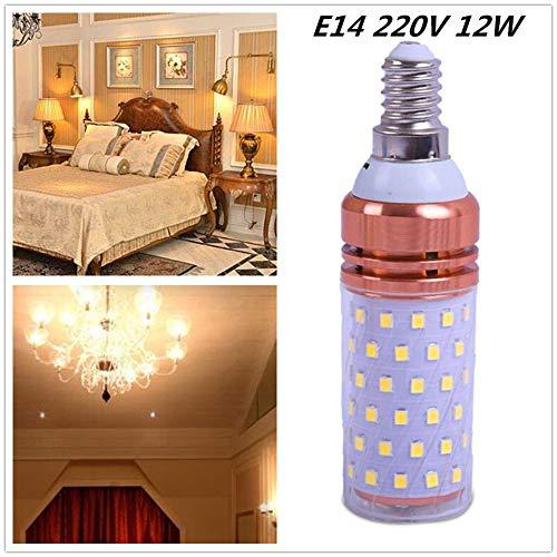 Ocamo LED Corn Light E14 Night Lamp Decoration 220V Warm White Light 12W 5pcs