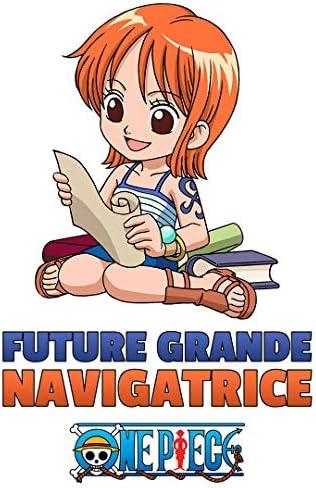 Licence Officielle Body B/éb/é Manches Courtes Parent Baby Geek Petite Pirate Nami One Piece /™