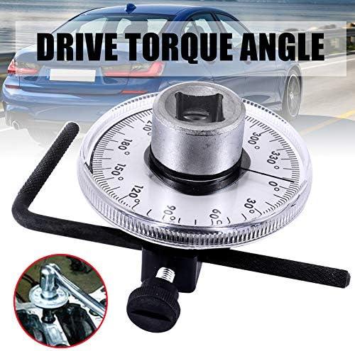 調節可能なドライブでプロフェッショナル1/2、トルク角度計トルクレンチ