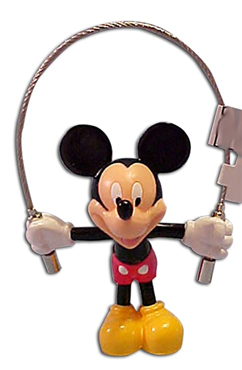 Amazon.com: Cuerda de Saltar de Disney Mickey Mouse llavero ...