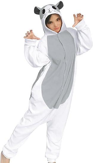 dressfan Unisex Animal Cosplay Hámster Pijamas Adulto Niño