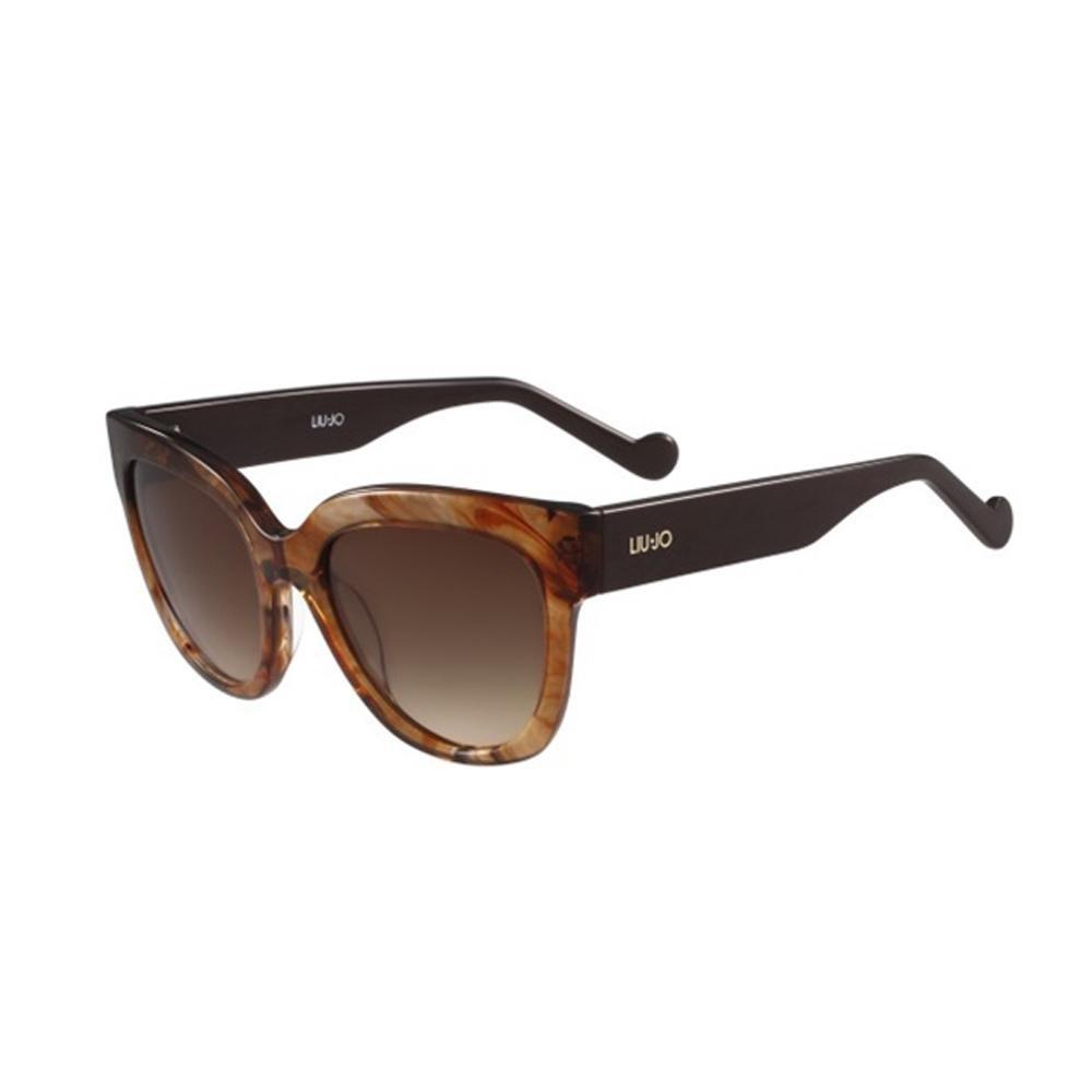 Liu Jo Damen Sonnenbrille LJ650S 265 54, Striped Brown