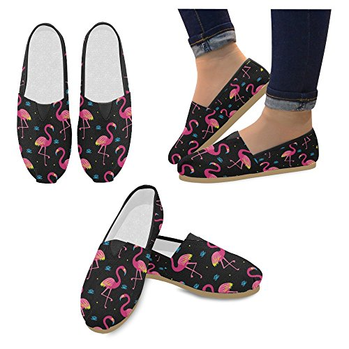 Classic Shoes Multi Womens InterestPrint Slip Canvas Sneakers Casual 16 Loafers Flats On Fashion RHqqxSEw