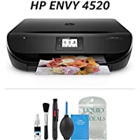 HP ENVY 4520 Wireless All-in-One Photo Printer with Mobile Printing, HP Instant Ink & Amazon Dash Replenishment ready (F0V69A)