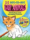img - for 3D Dot to Dot Baby Animals by Arcturus Publishing (2013-09-01) book / textbook / text book