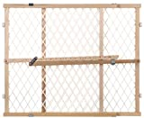 North States Industries Diamond Mesh Gate - 4600 - Natural - 26.5 to 42''