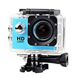 Lightdow LD4000 1080P HD Sports Action Camera Bundle with DSP