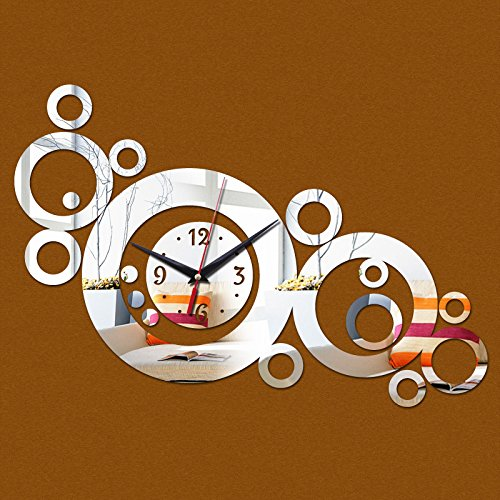 EverTrust(TM) quartz watch horloge diy wall clock modern design vintage large decorative clocks