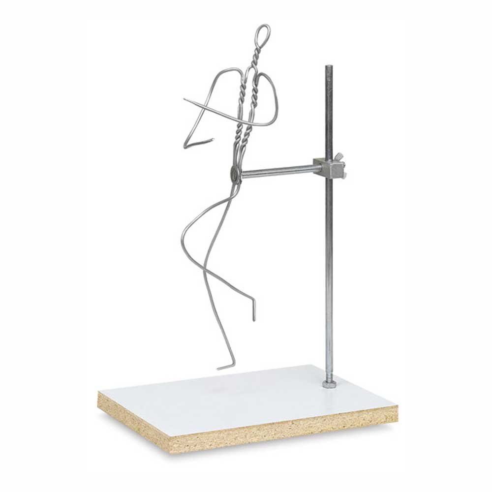 Jack Richeson Adjustable Armature Wire Figure, 15 in by Jack Richeson