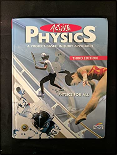 Active Physics A Project Based Inquiry Approach Physics