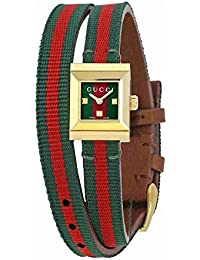 G-Frame Red and Green Dial Ladies Watch YA128527