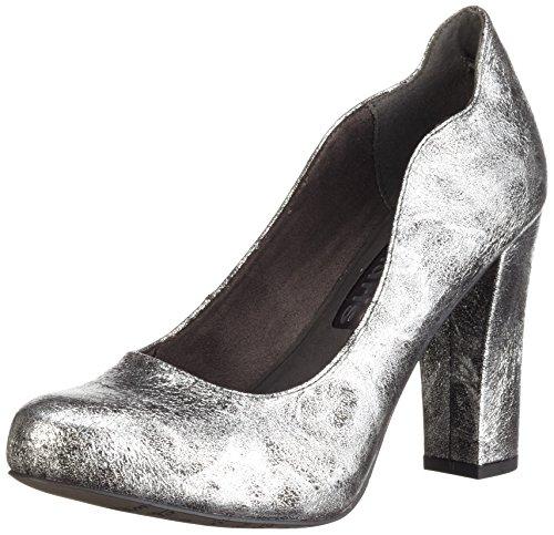 Tamaris 22439, Zapatos de Tacón para Mujer Plateado (SILVER 941)