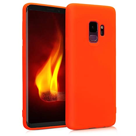 coque samsung s9 plus orange