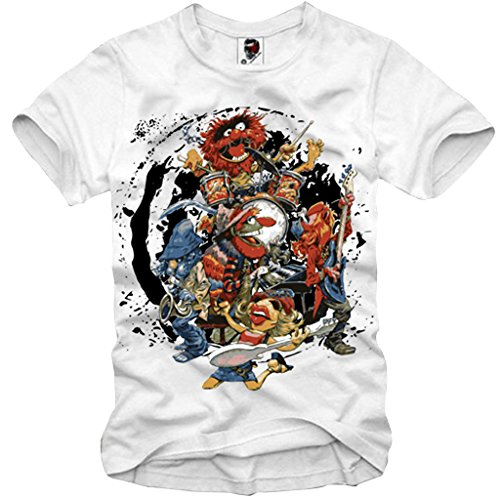 E1SYNDICATE T-SHIRT BOYS NIGHT OUT PARTY COCAINE CRAZY ROCK BAND THE ANIMAL XS-XXL (Rock Kids T-shirt Animal)