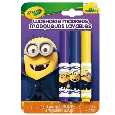 Crayola Minions Washable Pip Squeaks Markers