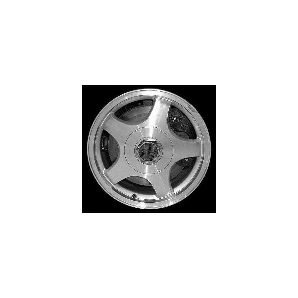 01 03 CHEVY CHEVROLET MONTE CARLO ALLOY WHEEL RIM 16 INCH, Diameter 16, Width 6.5 (5 SLOT), MACHINED FINISH, 1 Piece Only, Remanufactured (2001 01 2002 02 2003 03) ALY05082U10
