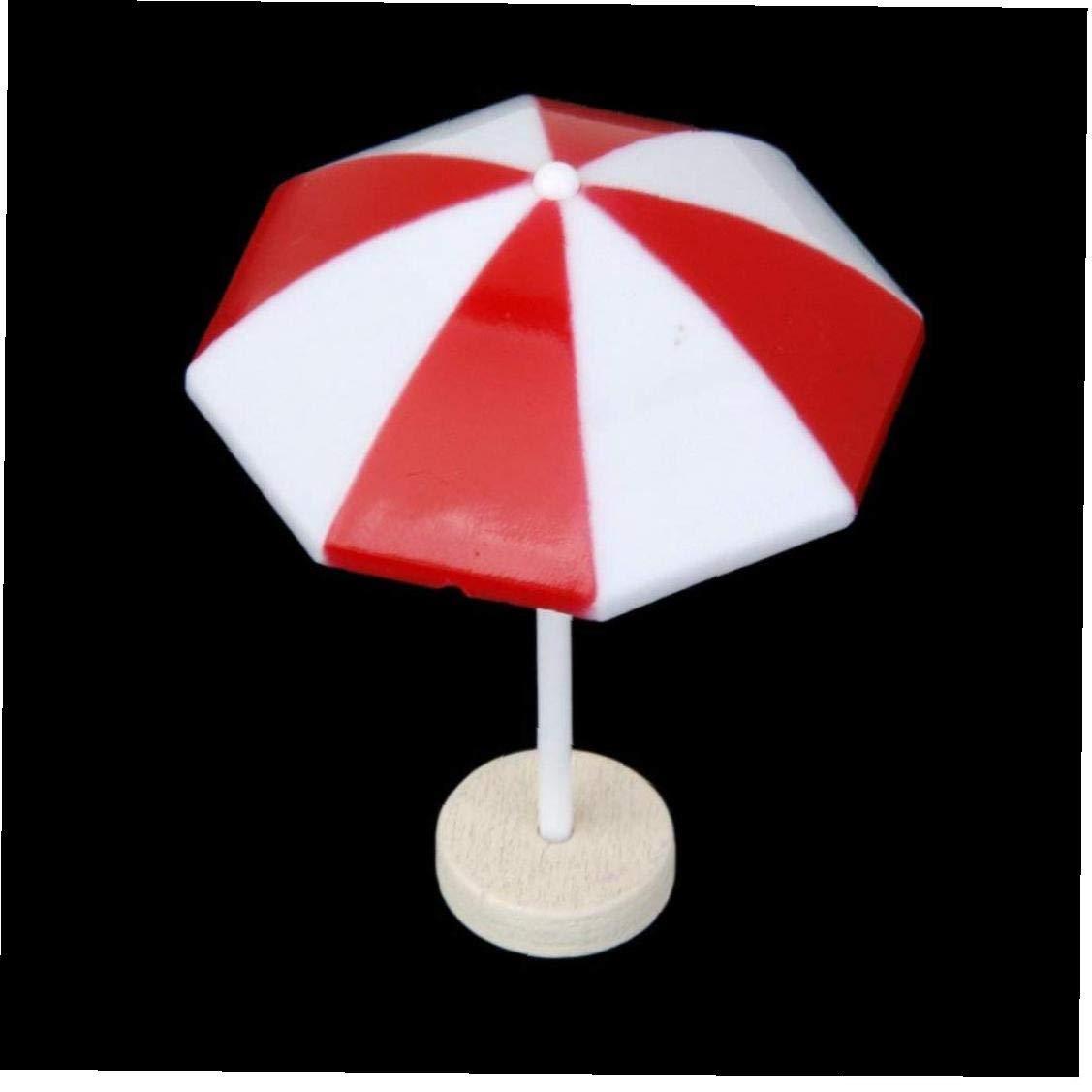 XKJFZ Miniatura Decorativa Paraguas Parasol Bonsai Peque/ño Paisaje De La Playa Casa De Mu/ñecas Bricojard/ín Decoraci/ón Color Al Azar