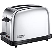 Russell Hobbs Grille-Pain, Toaster Victory, Cuisson Rapide et Uniforme, Réchauffe Viennoiseries Inclus - 23311-56