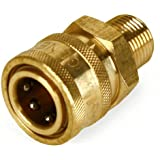 "Pressure Washer 3/8"" NPT-M Quick Coupler 4000 PSI"