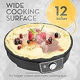 Crepe Maker Machine Pancake Griddle - Nonstick