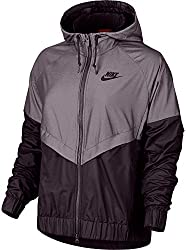 Nike Women's Sportswear Windrunner Jacket (Port Wine, S)