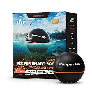 Deeper smart sonar pro gps portable for Amazon fish finder