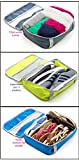 CLICK-IT ORGANIZERS. Packing Cube and Closet Storage Bag. Made 100% from Recycled Plastic Water Bottles. Pack of 3 Review