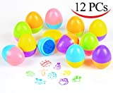 Joyin Toy 12 PCs Easter Egg Stampers Great Easter Toys for Easter Eggs Hunt Game, Easter Theme Party, Easter Egg Stuff, Easter Basket Stuffers Fillers, Easter Stamps Gifts, Classroom Prize.