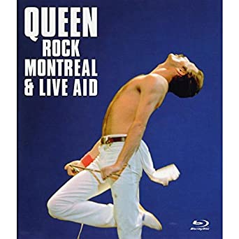 Queen - Rock Montreal + Live Aid [Reino Unido] [Blu-ray]