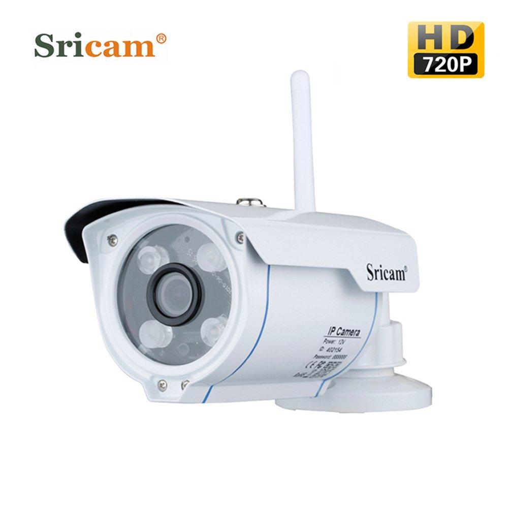 Caméras de Surveillance LESHP 720P HD 1,0 Mégapixels WiFi pour l Extérieur  Smart Caméra WiFi sans Fil Caméra Intélligente de Sécurité Plug   Play  ... 128ce1f0c2f0