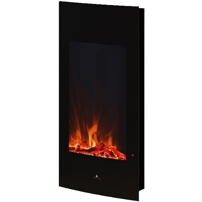 Noble Flame Detroit [Vertical CURVADO elektro-wandkamin]: Amazon.es: Hogar