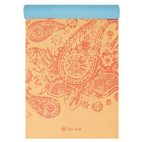 Gaiam Reversible Yoga Mat Fitness Goodness Daily Deals